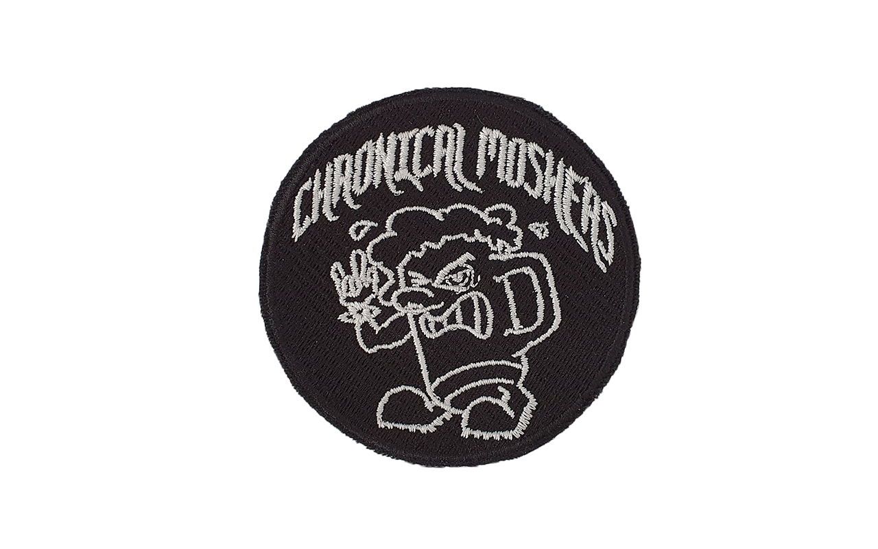 CHRONICAL MOSHERS - Patch rund