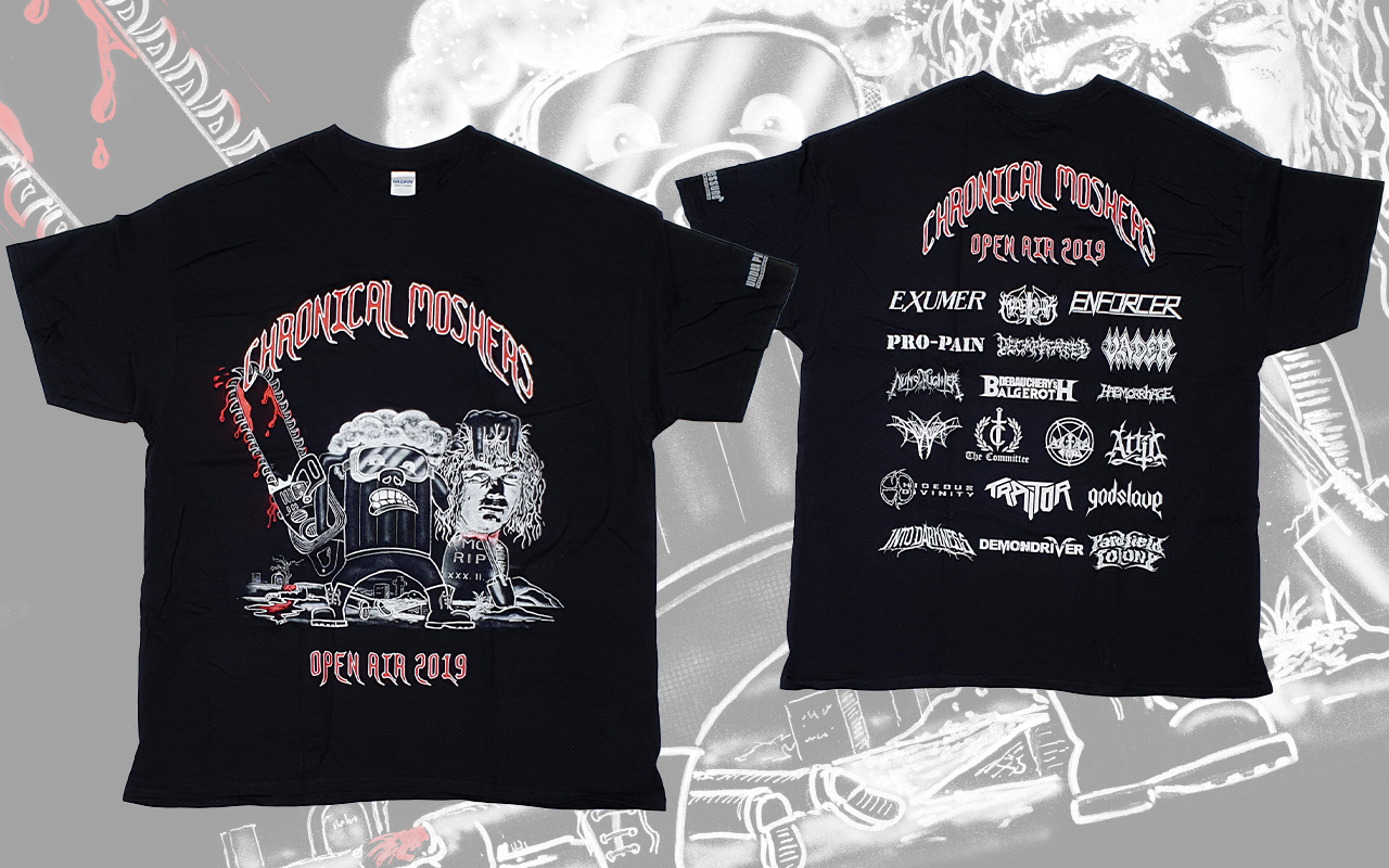 CHRONICAL MOSHERS OPEN AIR 2019 - T-Shirt